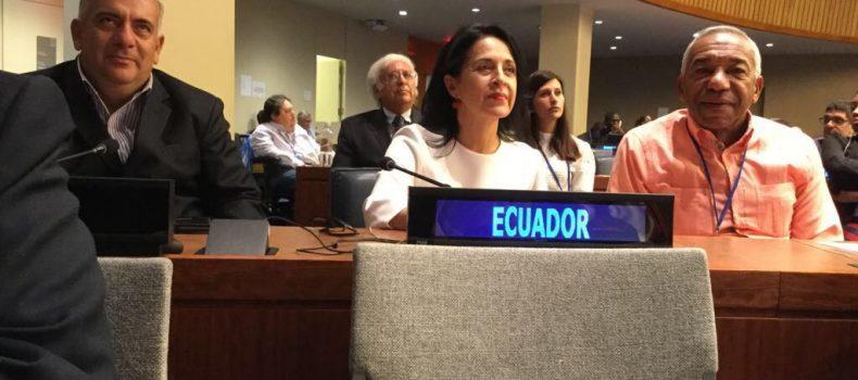 ECUADOR, ROCÍO DE MORENO LOGRA IMPORTANTES ACUERDOS EN MATERIA DE INCLUSIÓN