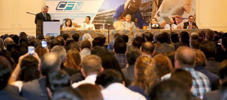 PRESIDENTE LENÍN MORENO ATESTIGUA OFERTA USD 700 MILLONES EN CONDICIONES PREFERENCIALES PARA EL SECTOR PRODUCTIVO