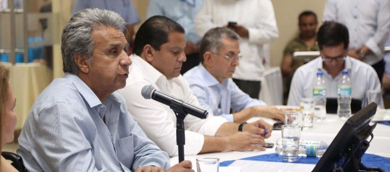 PRESIDENTE MORENO SE REUNIÓ CON REPRESENTANTES DEL SECTOR PESQUERO ARTESANAL