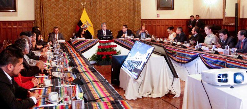 PRESIDENTE LENÍN MORENO SE REÚNE CON EL FRENTE UNIDOS EN QUITO