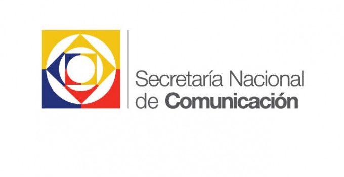 LA SECRETARÍA NACIONAL DE COMUNICACIÓN AL PAÍS
